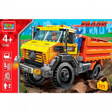 Город мастеров Ралли: грузовик 4х4 (529 деталей)