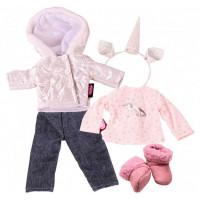 Gotz Набор одежды и аксессуаров зимний Единорог для кукол 27 см
