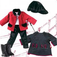 Gotz Набор одежды жокейский костюм и платье для кукол 27 см