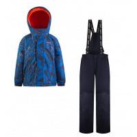 Gusti Комплект для мальчика (куртка, полукомбинезон) GWB 5604