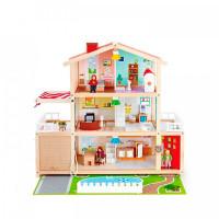 Hape Кукольный семейный особняк