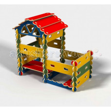 Hotenok Детский Домик с пристроем (49 элементов)