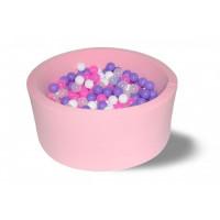 Hotenok Сухой Бассейн Фиолетовые пузыри 33 см с комплектом шаров 200 шт.