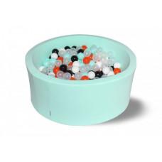 Hotenok Сухой бассейн Ночное сияние 40 см с комплектом шаров 250 шт.