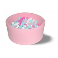 Hotenok Сухой бассейн Розовая мечта 40 см с комплектом шаров 200 шт.