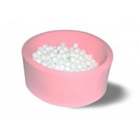 Hotenok Сухой бассейн Розовый снег 40 см с комплектом шаров 200 шт.
