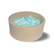 Hotenok Сухой бассейн Ванилька 40 см с комплектом шаров 200 шт.