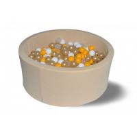 Hotenok Сухой бассейн Злато 40 см с комплектом шаров 200 шт.