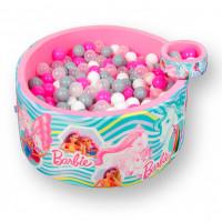 Hotenok Сухой игровой бассейн Barbie Сказочная история 40 см с комплектом шаров 200 шт.