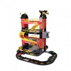 HTI Игровой набор Teamsterz Гараж-башня 4 уровня с 10 машинками
