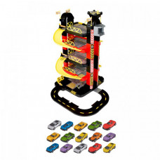 HTI Игровой набор Teamsterz Гараж-башня 5 уровней с 15 машинками