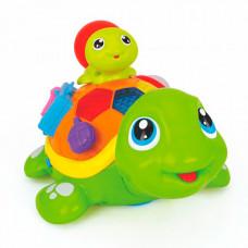 Huile Toys Игрушка музыкальная Весёлые черепашата (музыка, свет)