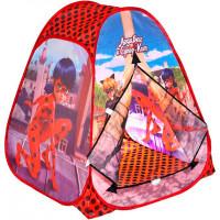 Играем вместе Игровая палатка Леди Баг и Супер кот 81х91х81 см