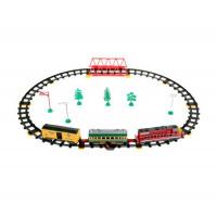Играем вместе Железная дорога Товарный поезд длина пути 227 см