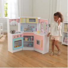 Детская игровая угловая кухня, цвет Делюкс