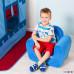 """Игровое детское кресло """"Рыцарь"""", цв. Голубой"""
