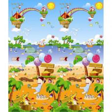 Игровой коврик BabyPol Морская прогулка 180х150х1 см