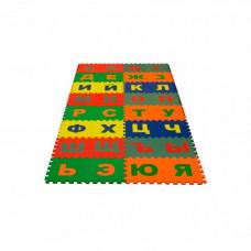 Игровой коврик Eco Cover пазл Русский Алфавит 20x20x0,9 cм
