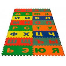 Игровой коврик Eco Cover пазл Русский Алфавит 25x25 cм