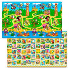 Игровой коврик FunKids Big-12, толщина 12 мм FD-B12-2S