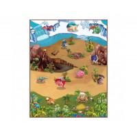 Игровой коврик Knopa Интерактивный Динопарк 3D 90х120 см