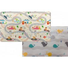 Игровой коврик Parklon Green Soft Дороги/Киты 190х130