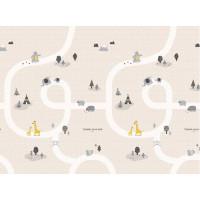 Игровой коврик Parklon Portable Лесные тропинки 140x200x1 см