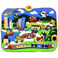 Игровой коврик Знаток Звуковой коврик Мой любимый город