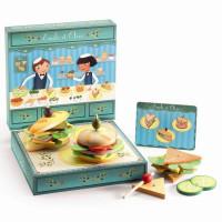 Игрушечные деревянные Сэндвичи от Эмиля и Олив