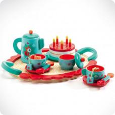 Игрушки деревянные Чаепитие у Лисички