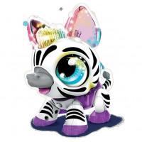 Интерактивная игрушка 1 Toy РобоЛайф Зебра со световым эффектом