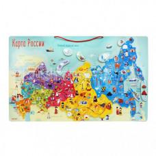 Janod Карта России с магнитными пазлами 90 элементов