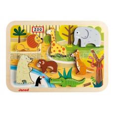 Janod Пазл Зоопарк J07022