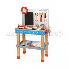 Janod Верстак Brico'Kids с магнитными инструментами (40 элементов)