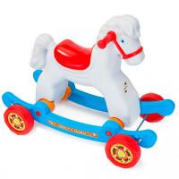 Качалка R-Toys Лошадка на колесах