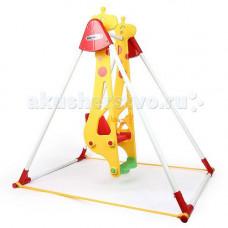 Качели Haenim Toy Жираф для одного ребенка