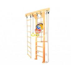 Kampfer Шведская стенка Wooden Ladder Wall Basketball Shield 3 м