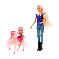 Карапуз Кукла София с дочерью на лошадке 29 см B161-S-BO