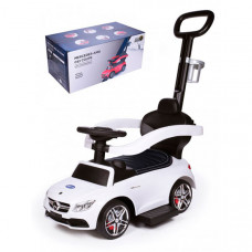 Каталка Baby Care Mercedes-Benz AMG C63 Coupe кожаное сиденье