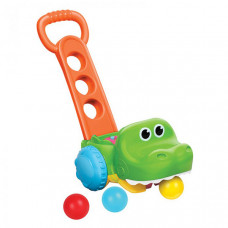 Каталка-игрушка B kids Крокодил с мячиками