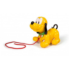 Каталка-игрушка Clementoni на веревочке Плуто