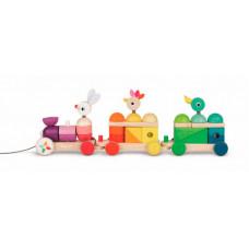 Каталка-игрушка Janod Поезд