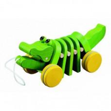 Каталка-игрушка Plan Toys Каталка Танцующий крокодил