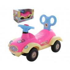 Каталка Molto Автомобиль для девочек Сабрина в коробке