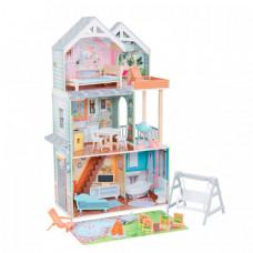 KidKraft Кукольный домик Хэлли с мебелью (27 элементов)