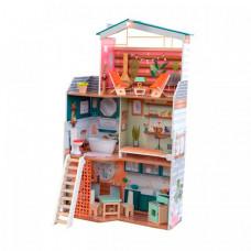 KidKraft Кукольный домик Марлоу с мебелью (14 элементов)