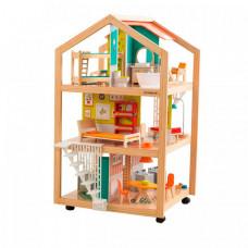 KidKraft Кукольный домик на колесиках Ассембли с мебелью (42 элемента)