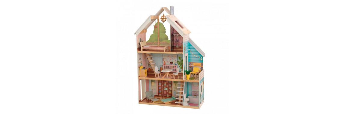 KidKraft Кукольный домик Зоя интерактивный с мебелью