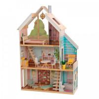 KidKraft Кукольный домик Зоя интерактивный с мебелью (13 элементов)