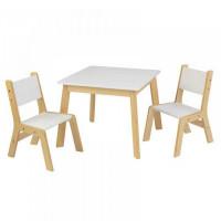 KidKraft Набор Стол и 2 стула Модерн